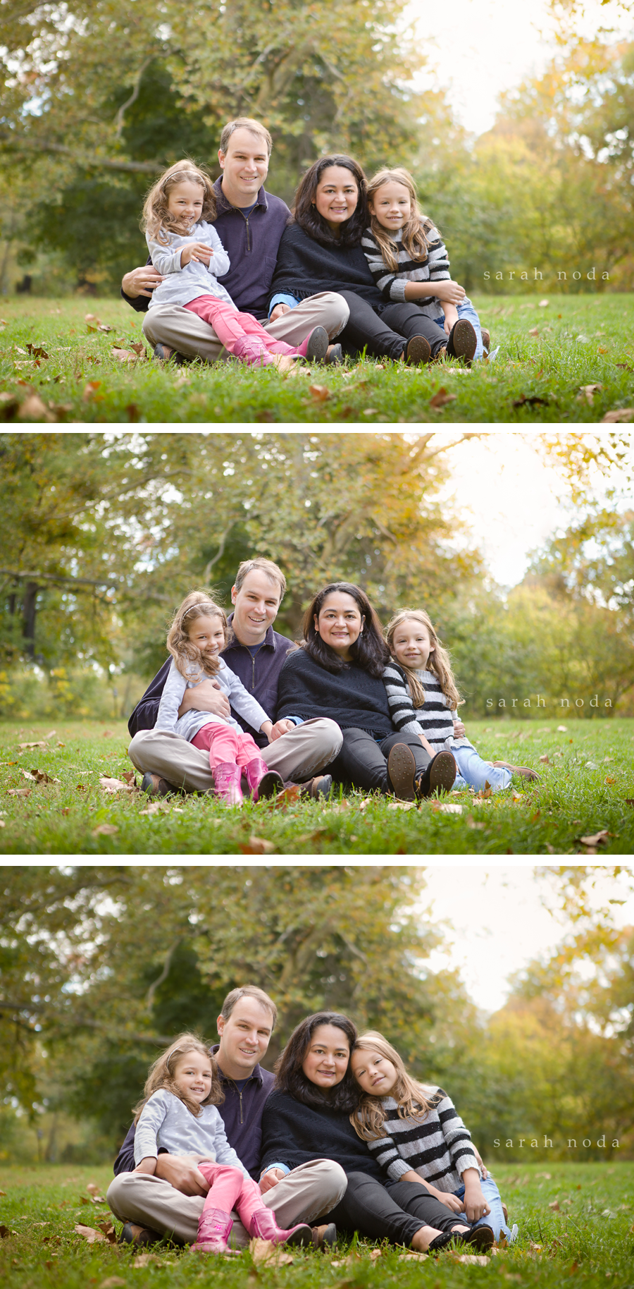 family-portrait-in-central-park-parents-and-daughters